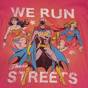 "DC Comics Super Women ""We Run These Streets"" Tee"
